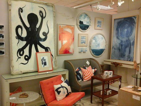 Salmon Colors At The Atlanta Furniture Market Http://www.idssuncoast.com/ |  Accessories | Pinterest | Furniture Market