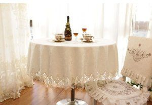 muslin round table clothes | home kitchen kitchen dining kitchen table linens tablecloths
