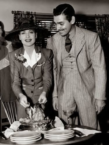 Thanksgiving Thoughts with Carole Lombard and Clark Gable