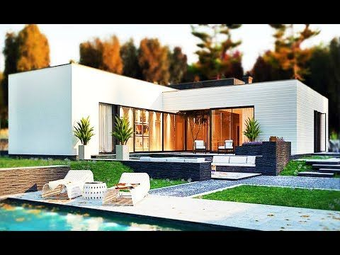 179m Synthesize The Ideas Design Single Storey Houses With Flat Roofs Unique Modern Youtu Single Storey