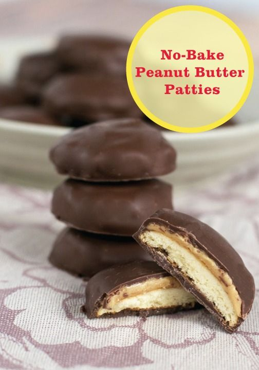 Use Nilla Wafers to create these delicious and easy No-Bake Peanut Butter Patties.
