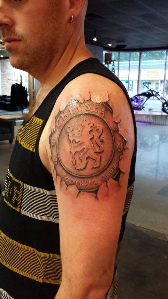 Chelsea FC Tattoo