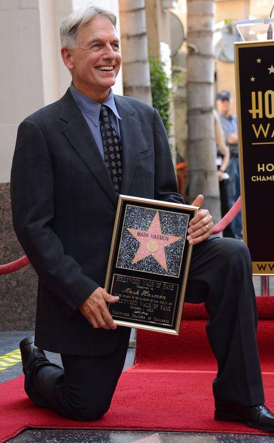 Mark během ceremoniálu udělení hvězdy na Hollywoodském chodníku slávy, říjen 2012