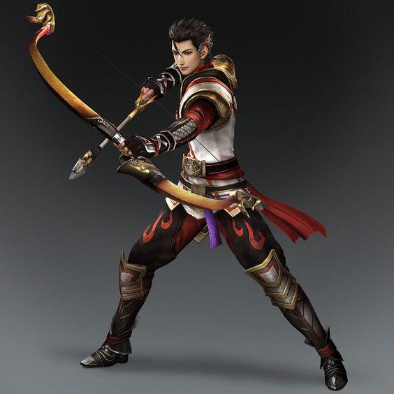 Warriors Orochi 4 Athena: Zhu Ran & Weapon (Wu Forces)