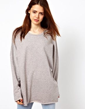 Enlarge Just Female Oversized Sweatshirt | clothing... | Pinterest ...