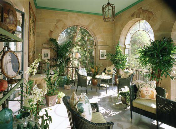 Solarium Greystone Mansion Showcase House Beverly Hills