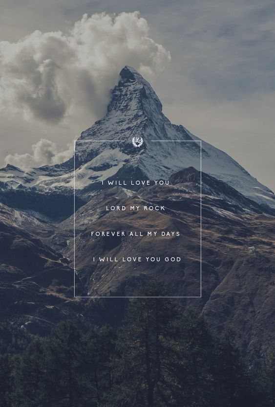 quot;God I Look to Youquot; by Jenn Johnson // Phone screen wallpaper format // Like us on Facebook www