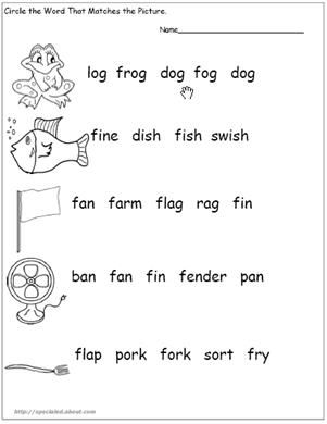 Kindergarten Worksheets Letter F Words Cool pre k worksheets for ...