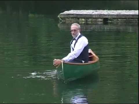 Competición Freestyle de canoas. Esto sí que es demasiado para mi cabeza.