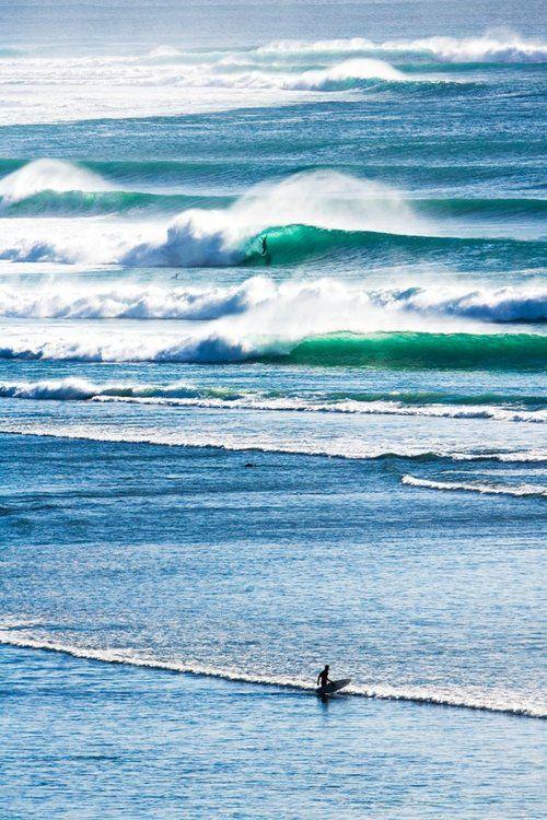 zillion of waves...