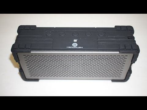 Review: Headrush Rugged Bluetooth Speakers. Indestructible? -  Best sound on Amazon: http://www.amazon.com/dp/B015MQEF2K - http://gadgets.tronnixx.com/uncategorized/review-headrush-rugged-bluetooth-speakers-indestructible/