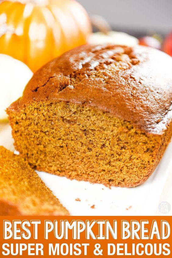 BEST Pumpkin Bread · Super Moist & Delicious