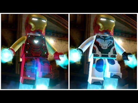 All Iron Man Avengers Endgame Suits In Lego Marvel Super Heroes 2 Cutscene Youtube Lego Marvel Lego Marvel Super Heroes Marvel Superheroes