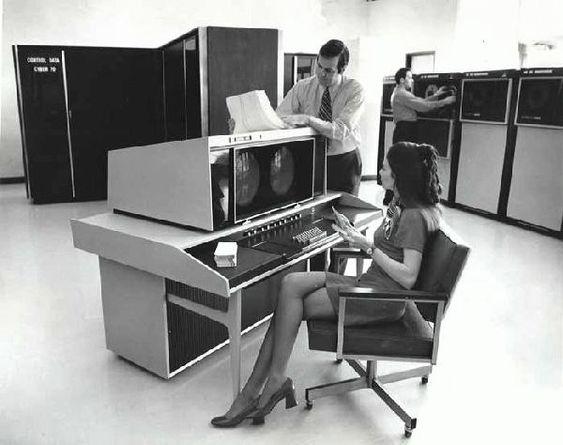 Office of the future, circa 1968 - Imgur