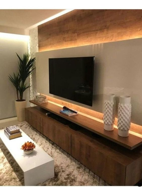 Incredible TV Wall Design And Decoration Ideas You Need To See » Engineering Basic