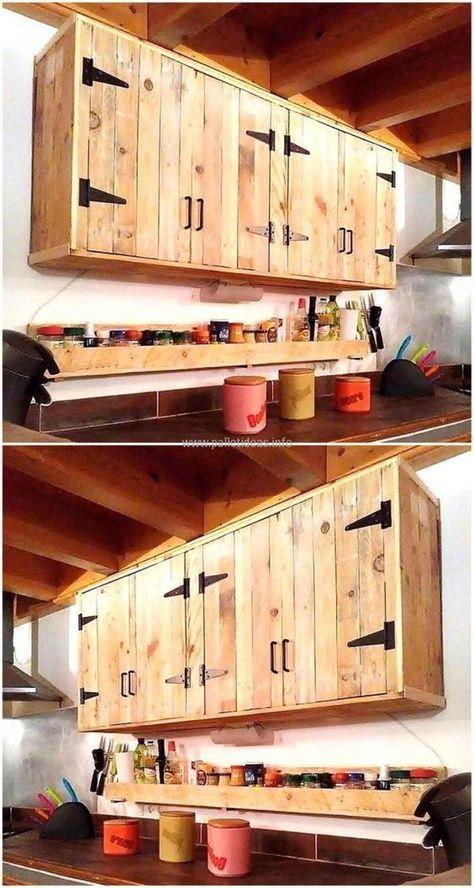 33+ Meubles cuisine en bois de palette inspirations