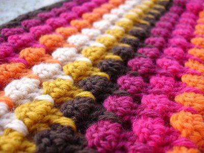 Próxima manta. Me encantan los colores.   Tiene tutorial.