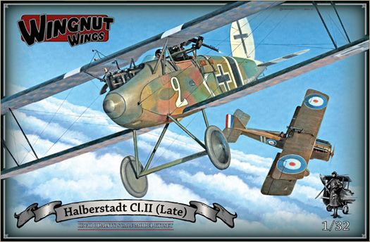 Wingnut Wings Announces Development Of Two 1 32 Halberstadt Cl Ii Kits Model Kit Plastic Model Kits Wings