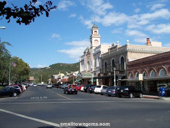 Best Small Towns In America Photos Town Square Sonoma