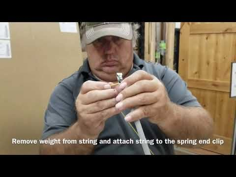 Replace 335 Springs And 308 Clutch Shoe On Hurd Compression Tilt Double Hung Window Jamb Liners Youtube Double Hung Windows Window Jamb Double Hung