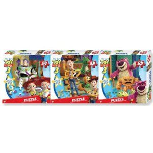 toy story puzzles.  well, any puzzles, but she likes toy story.