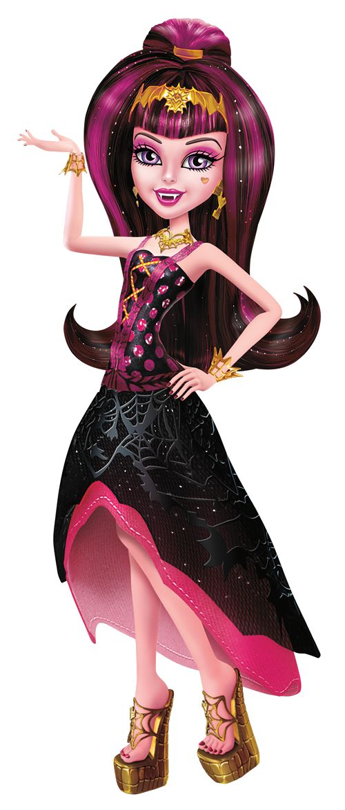Monster High Artworks/PNG: Draculaura: