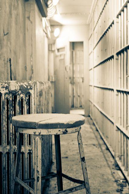Corredores en Alcatraz
