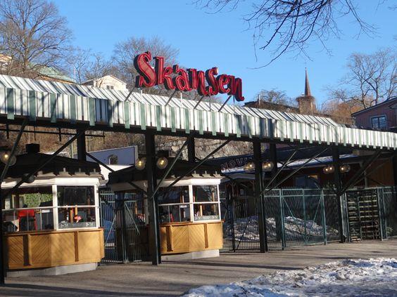 skansen in stockholm sweden