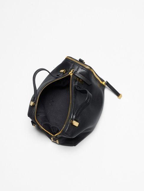 Halston Heritage -Leather Baby Satchel