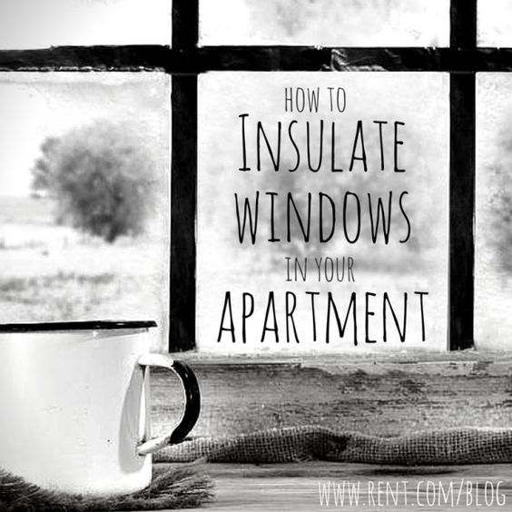 how to insulate windows in your apartment warm nice and the o 39 jays. Black Bedroom Furniture Sets. Home Design Ideas