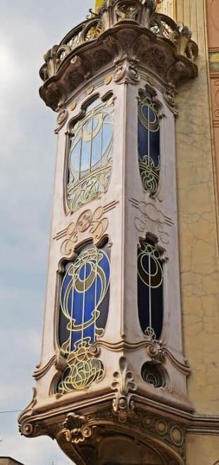 Casa Fenoglio - La Fleur in via Principi d'Acaja a Torino, Italy  foto di Benedetta Picco - Italian Liberty, Art Nouveau