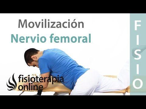 Cómo realizar una Auto-movilizaciones del nervio Femoral para cruralgia o neruralgia crural | Fisioterapia Online