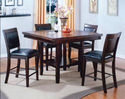 Fulton 5 Piece Pub Height Dinette Our Home Pinterest