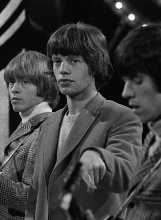 Jones, Jagger, Richards in concert. 1964
