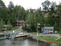 Camp at Muskie Bay Resort in Nestor Falls, Ontario