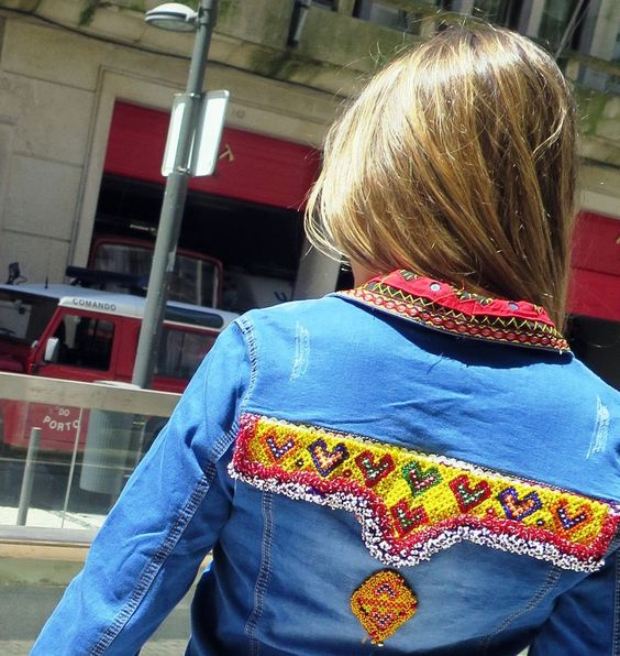 95,00 € # PORTUGAL SHOP # Casaco de ganga via yard_of_ girls store.
