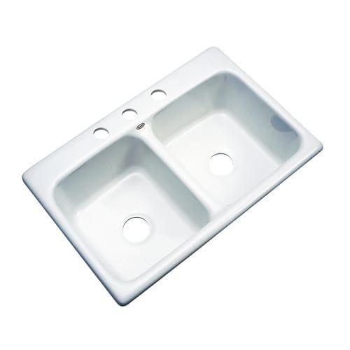 White Kitchen Sink 33 X 22
