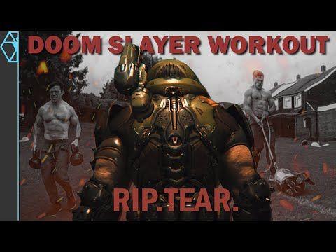Doom Slayer Training Work Out Like A Space Marine Youtube In 2021 Slayer Space Marine Doom