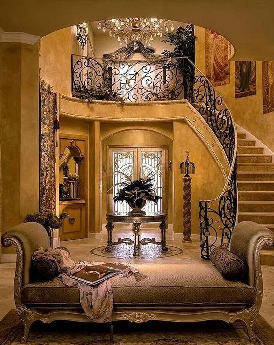 Foyers Iron Railings And Railings On Pinterest