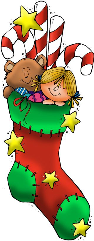 Stockings, Christmas stockings and Clip art on Pinterest