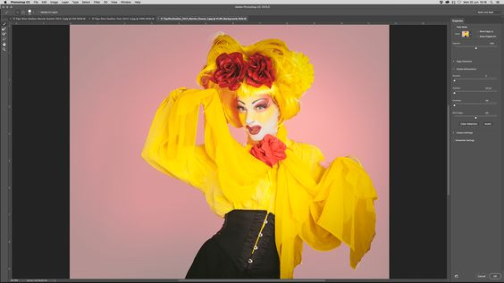 Photoshop tutorial: How to use the new Select and Mask tools in Photoshop 2016…
