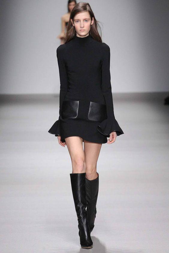 Os 12 melhores vestidos pretos das semanas de moda - Estadao.com.br
