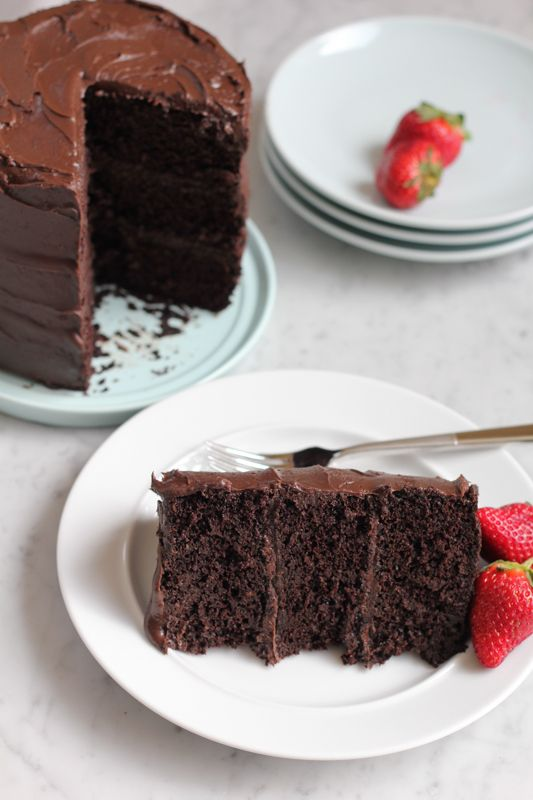 Rich Chocolate Cake Images : Best chocolates, Dark chocolate frosting and Rich ...
