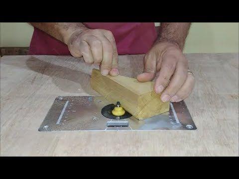 Tupia Invertida Com Suporte De Aluminio Dicas Youtube Tupia