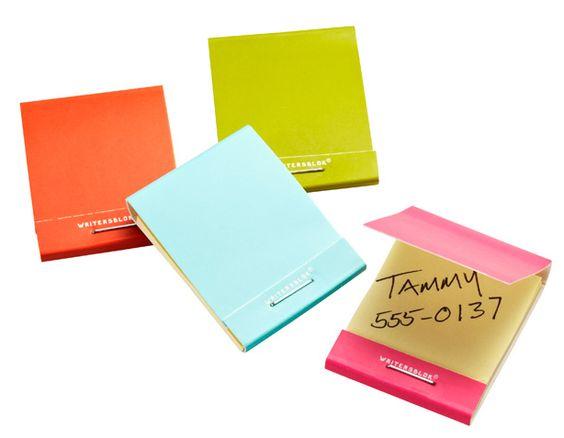 work, office, office supplies, work supplies, matchbook, notepad, notes, matchbook notes, sticky notes, matchbook sticky notes