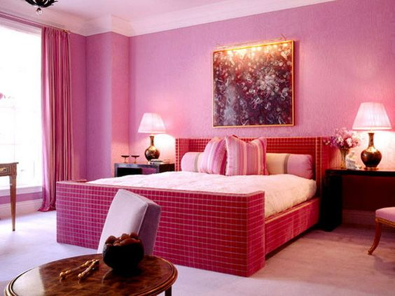 Bedroom Design And Color Peenmediacom - Latest bedroom designs in pink colour