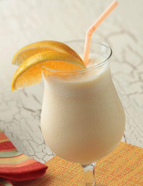 Orange Vanilla Creme Smoothie-- a delectable drink from our friends at @Aly Dratch Dant River Select