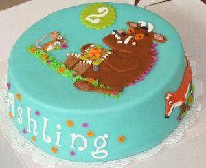 Gruffalo cake. Simple but effective.