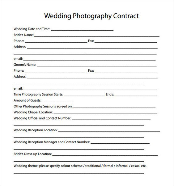 Image result for photography payment plan contract agreement - seo contract template