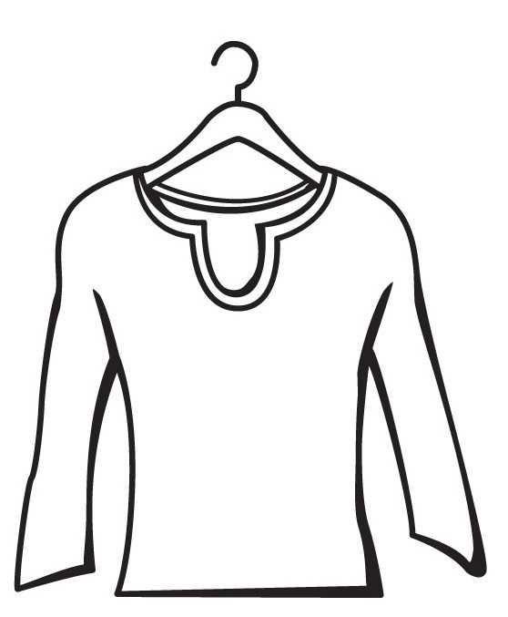 Okul Oncesi Gomlek T Shirt Boyama Sayfasi Okul Oncesi Etkinlik Faliyetleri Madamteacher Com Gomlek Mont Tisort